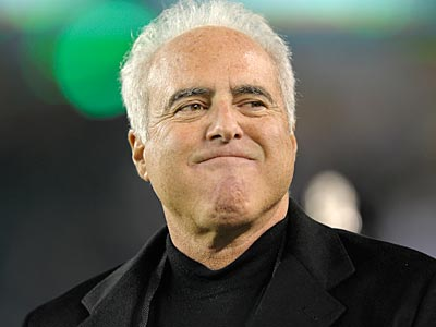 It´s unusual for Eagles owner Jeffrey Lurie to speak to the media following the season. (Michael Perez/AP)