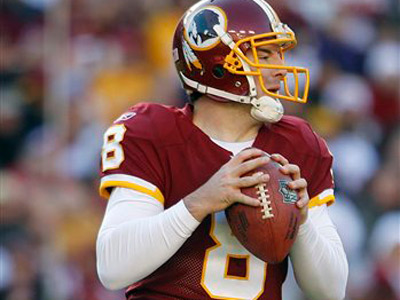 Can Rex Grossman actually help your fantasy team this week? (AP Photo/Evan Vucci)