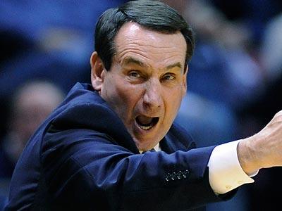 Mike Krzyzewski coached Duke to its fourth national championship last season. (Bill Kostroun/AP file photo)