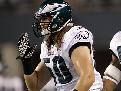 Casey Matthews showed potential in coverage toward the end of the season, but struggled against the run. (Ted S. Warren/AP)