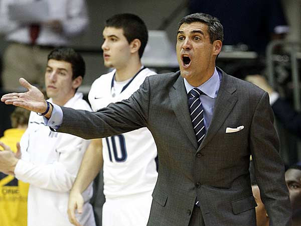 Villanova head coach Jay Wright. (Yong Kim/Staff Photographer)
