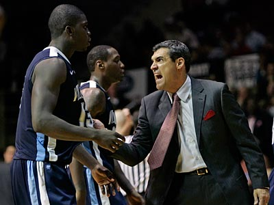 Coach Jay Wright and the 12th-ranked Villanova Wildcats are 7-1 on the season. (Michael Bryant/Staff Photographer)