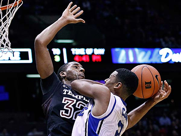 Forward Rahlir Hollis-Jefferson and Temple are extremely inconsistent and plays to the level of its competition. (Mel Evans/AP file photo)