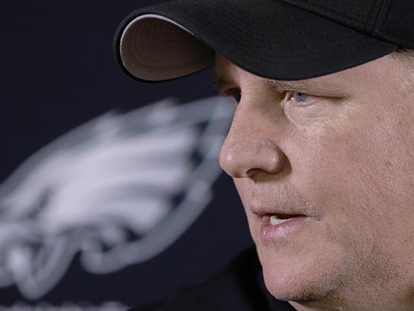 Eagles head coach Chip Kelly. (Matt Rourke/AP)