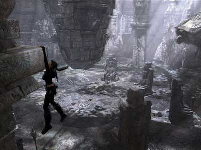 Lara Croft searches ruins all over the world to find the artifacts that will lead her to the hidden land of Avalon. (Eidos Interactive/MCT)