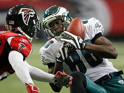 Eagles receiver Reggie Brown remained active Sunday against the Broncos (Ron Cortes / Staff Photographer)