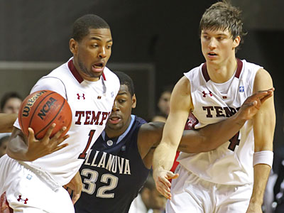 Temple and Villanova will face an 18-team Big East tournament beginning in the 2013-14 season. (Michael Bryant/Staff Photographer)