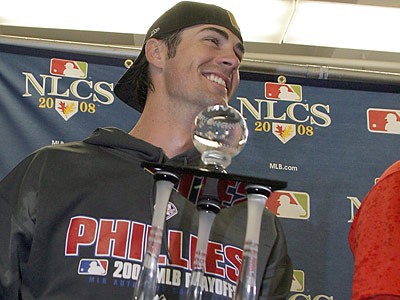 """For the past two years they've been choke artists,"" Cole Hamels said of the Mets. (Yong Kim/Staff Photographer)"
