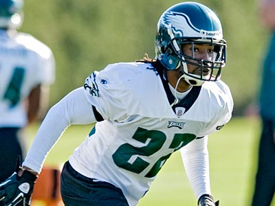Eagles cornerback Asante Samuel will miss his third straight game on Sunday. (Clem Murray/Staff file photo)