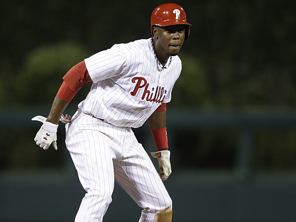 Phillies outfielder John Mayberry Jr. (Matt Slocum/AP)
