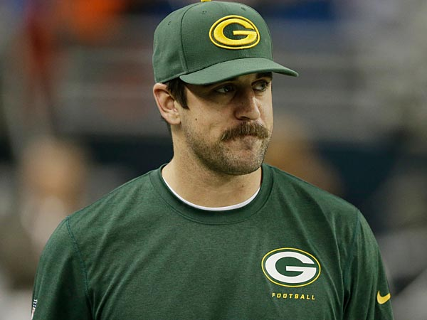Green Bay Packers quarterback Aaron Rodgers is among the many NFL stars the Eagles managed to avoid playing this year. (Carlos Osorio/AP file photo)