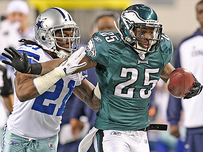 LeSean McCoy rushed for 149 yards against the Cowboys Sunday night. (Steven M. Falk / Staff Photographer)