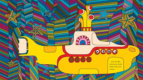 An exclusive Beatles ´Yellow Submarine´ book that lets readers tap their iPad, iPhone and iPod touch to immerse themselves in the legendary film´s colorful sights and sounds is available for free download on Apple´s iBookstore worldwide.