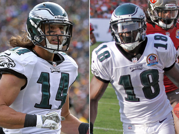Eagles must decide: Re-sign Cooper and Maclin?