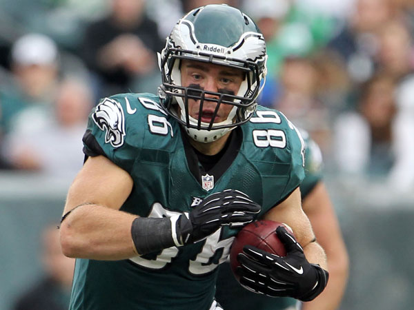 Eagles tight end Zach Ertz. (Yong Kim/Staff Photographer)