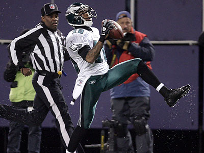 DeSean Jackson scored two of the Eagles´ six touchdowns against the Giants. (David Maialetti/Staff Photographer)