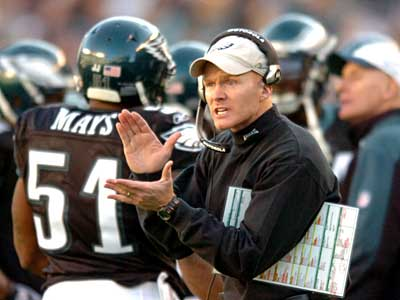 Could Eagles defensive coordinator Sean McDermott be in line for a head-coaching gig?