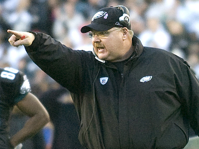 After signing a contract extension, an argument can be made that Andy Reid is the best coach in the NFL. (Clem Murray / Staff Photographer)