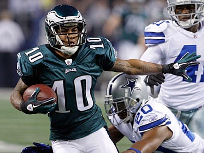 DeSean Jackson averaged 52.5 yards per catch during Sunday night´s win over Dallas. (Ron Cortes/Staff Photographer)