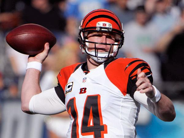 Cincinnati Bengals quarterback Andy Dalton. (Denis Poroy/AP)