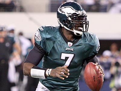 """A lot of things have to take place... But hopefully I´m a Philadelphia Eagle next season."" Michael Vick said. (Steven M. Falk/Staff Photographer)"