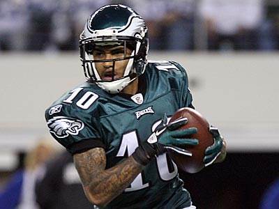 "DeSean Jackson discussed his contract situation on the ""T.Ocho show."" (Yong Kim/Staff Photographer)"