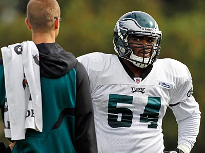 A few high draft picks like Brandon Graham have made little impact for the Eagles so far. (Alex Brandon/AP)