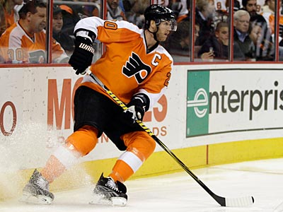 """There's no truth to him retiring,"" Flyers general manager Paul Holmgren said about Chris Pronger. (Matt Slocum/AP)"