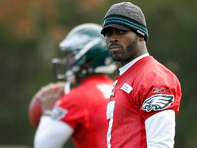 Michael Vick is expected to start Sunday against the Jets. (Alex Brandon/AP)
