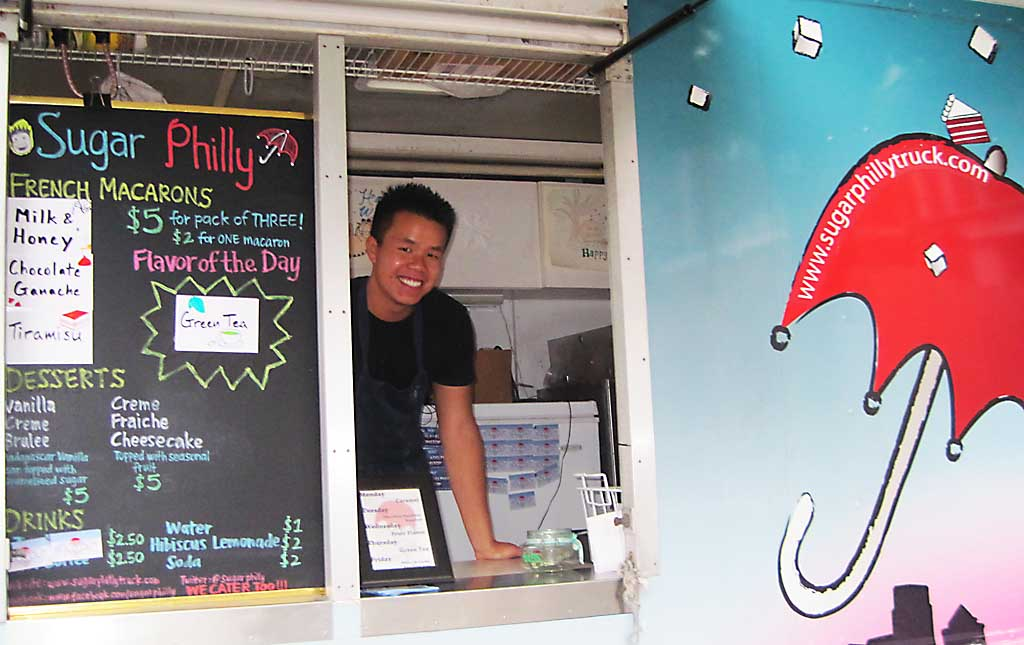 Dan Tang, chef of the dessert truck Sugar Philly, says he´s had a hard time dealing with all the city´s food truck rules and regulations.