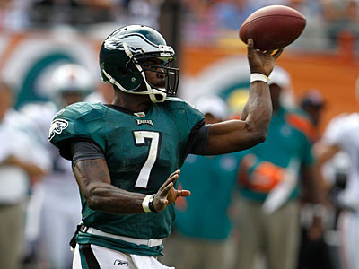 Michael Vick has struggled in the past two games. (Lynne Sladky/AP Photo)