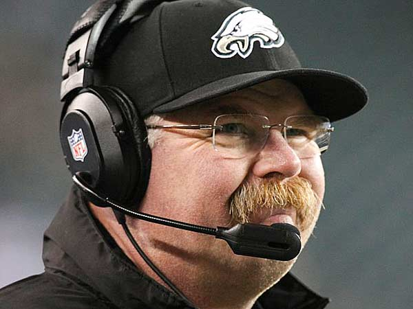 Andy Reid watches a tough loss to the Bengals, 34-13 at Lincoln Financial Field in Philadelphia, Thursday, December 13, 2012. (Steven M. Falk/Staff Photographer)