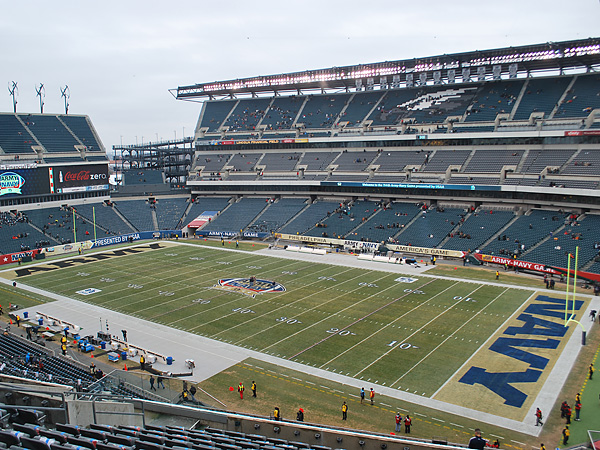 Lincoln Financial Field is set to host another Army-Navy spectacle. (Jonathan Tannenwald/Philly.com)