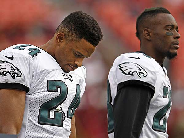 Eagles face questions at cornerback