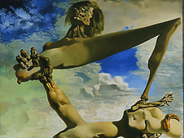 "Salvador Dalí´s ""Soft Construction with Boiled Beans (Premonition of Civil War),"" oil on canvas, 1936."