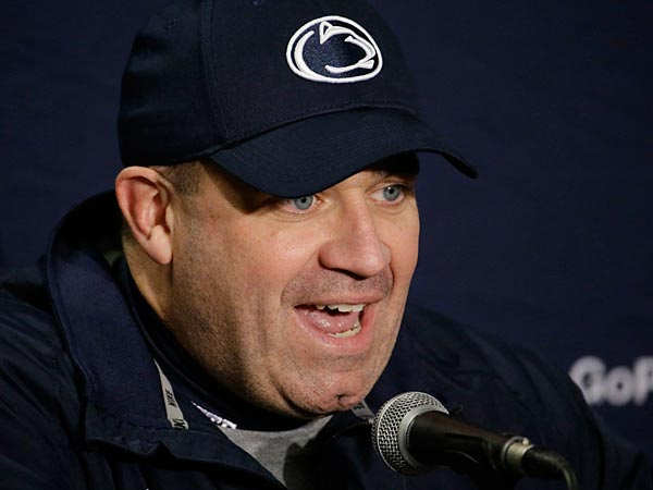 Penn State head coach Bill O´Brien has attracted some NFL teams. (AP Photo/Morry Gash)