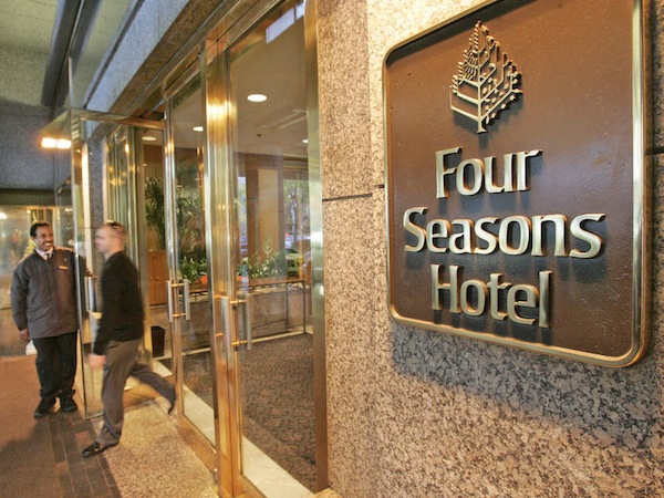 Four seasons hotel online shopping