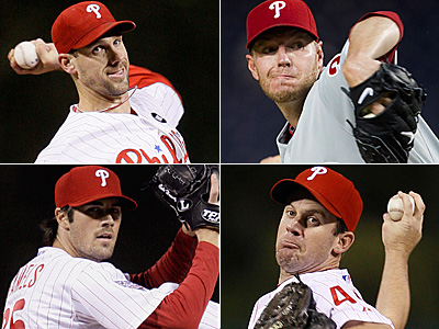 The Phillies may have their best rotation ever, but will that be enough to win a World Series? (AP Photos)