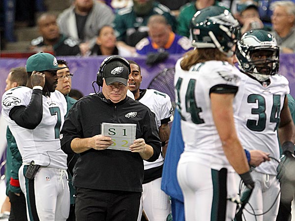 Eagles Notes:  Birds will go all-out vs. Bears, Kelly says