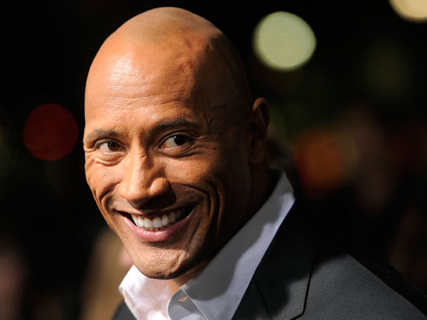 "Dwayne ""The Rock""Johnson. (Photo by Chris Pizzello/Invision/AP)"