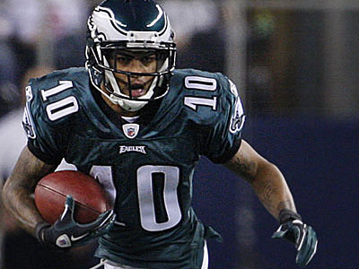 DeSean Jackson was listed as questionable for Sunday´s game. (Ron Cortes/Staff Photographer)