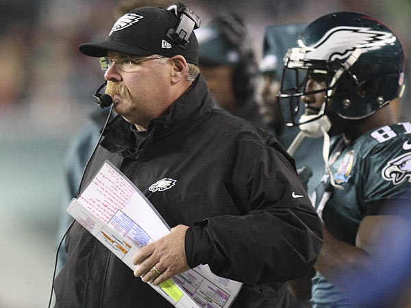 Eagles head coach Andy Reid. (Steven M. Falk/Staff Photographer)