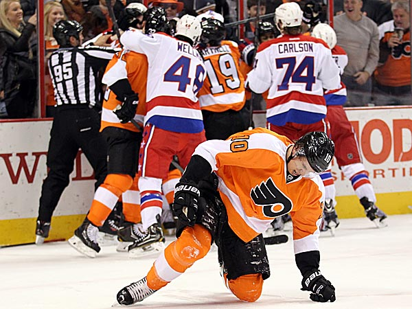 The Flyers´ Brayden Schenn. (Yong Kim/Staff Photographer)