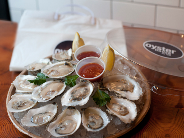 The Oyster House´s specialty — before they are devoured and the shells are left to dispose of. (PHOTO: ERIC STABACH)
