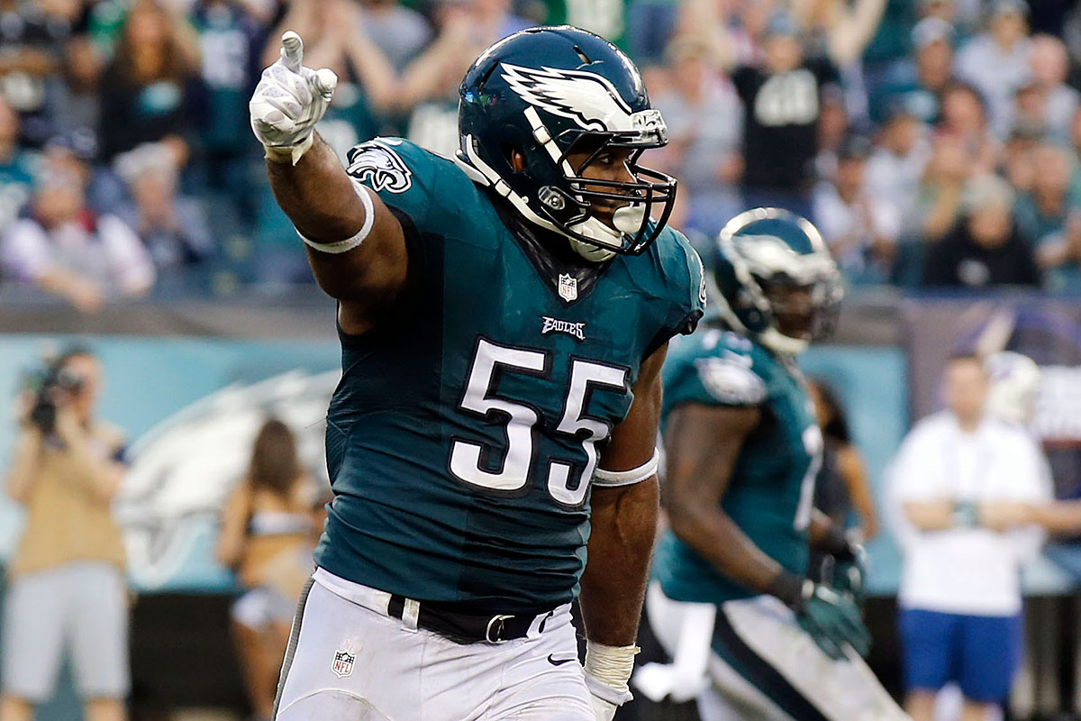 Brandon Graham s mission Get to Carson Palmer