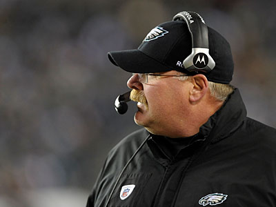 And Reid and the Eagles are still somehow alive in the NFC East. (Michael Perez/AP Photo)