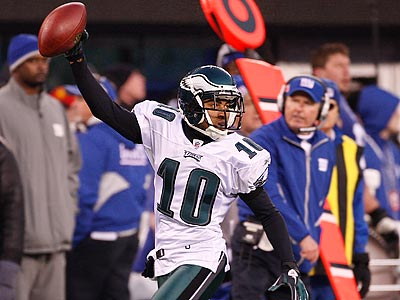 DeSean Jackson´s 65-yard punt return gave the Eagles´ an improbably victory. (Ron Cortes/Staff Photographer)