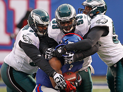 Giants running back Ahmad Bradshaw could be an unrestricted free agent. (Ron Cortes/Staff Photographer)