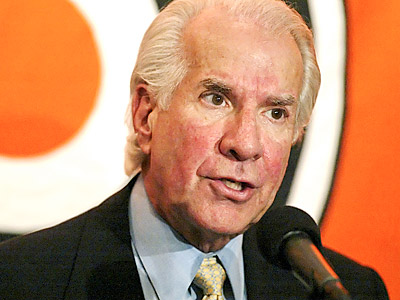 Flyers owner Ed Snider hinted the Flyers would make a move for a defenseman in the offseason. (AP file photo)
