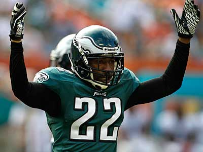 Has Asante Samuel played his final game as a member of the Eagles? (AP Photo/Lynne Sladky)